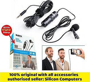 By-M1 Microphone For Youtubers - boya mic -All Devices Supported