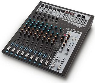 12 Channel Audio Mixing Console with DFX and Compressor by LD-Systems GERMANY