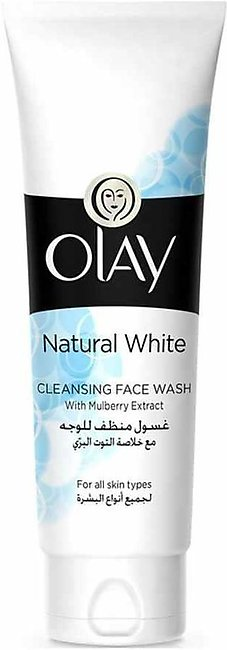 Olay Natural White Cleansing Face Wash - 100ml