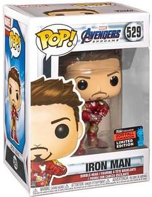 Funko Pop Iron Man With Infinity Stones in Hand Action Figure
