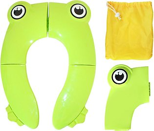 Foldable Potty Training Seat Cover Liner Toilet for Toddler Kid Girl Boy Non Sl…