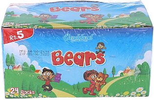 CandyLand Jelly Bears 24 Pack