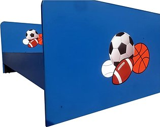 New Style Kids Foot Ball Single Bed for Boys, Sports Style Beds