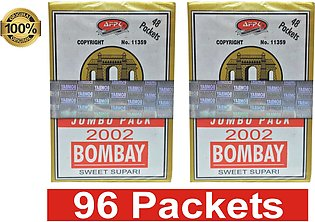 Pack of 2  Bombay Sweet Suparii  96  Packets
