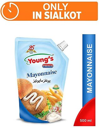 Young's French Mayonnaise 500gm (One Day Delivery in Sialkot)