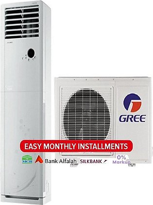 Gree Floor Standing GF-24CD - Floor Standing Air Conditioner Low Voltage Star...