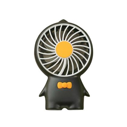 Mini Rechargeable USB Fans, Portable Hand Held Travel Personal Desk Fan with Stand and Hanging Strap, Long Lasting 3 Speeds for Office Home