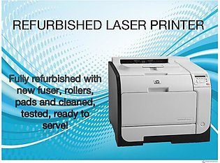 HP LaserJet Pro400 colour Printer with wifi