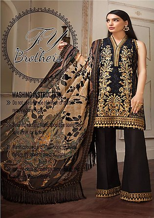 Anaya Black Lawn Collection