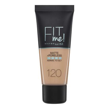 Maybelline Fit Me Matte & Poreless Foundation - 120 Classic Ivory 30ml