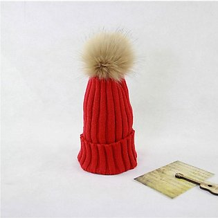Hats For Women Ladies hat Warm Lady Sleeve Knitted Hat Autumn/Winter Hair Ball …