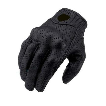 Real Leather Motorcycle Gloves, Waterproof Moto Glove Motocross Protective Gear Gloves Gift (1 Pair)