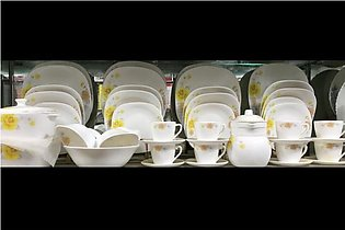Marble Dinner set ovenproof heavy quality