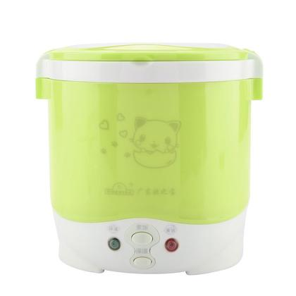 12V 100W 1L Electric Portable Multifunctional Rice Cooker Food Steamer for Cars