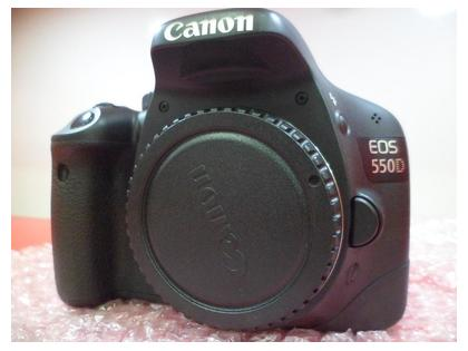 Canon 550D DSLR camera used body Good condition with Canon Bag With out lens & With out Box