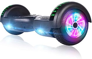 Hoverboard for Kids Self Balancing Hoverboard with Bluetooth and LED Lights, Bl…