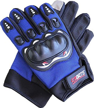 Men Motorcycle Gloves Full Finger Touch Screen Riding Tactical Gloves
