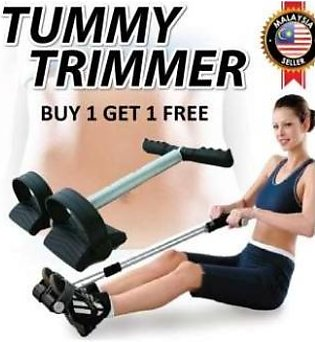 BUY 1 GET 1 FREE HIGH QUALITY Single Spring Tummy Trimmer Pull Up Exerciser Bel…