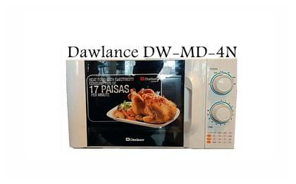 Dawlance MD-4N - Classic Series Microwave - 20 Ltr - White