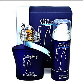 Blue Lady Perfume, Gift Pack For Women
