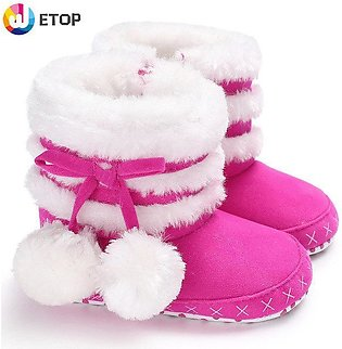 Baby shoes winter cotton shoes baby shoes warm snow boots toddler shoes baby sh…