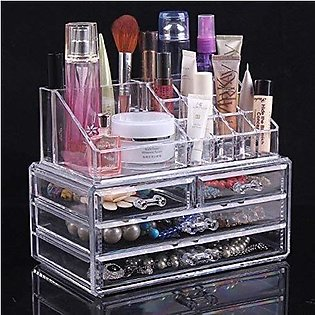 cosmetic organizer makeup storage box lipstick holder stand more tool