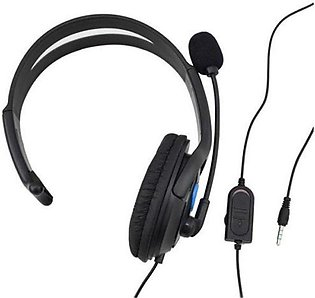 Ps4-001-B Headphones With Mic For Ps4 Sony Play Station 4/Pc Gaming Headsets