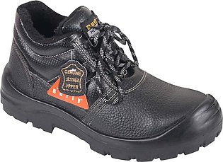 LEATHER SAFETY SHOES ( BURLY )