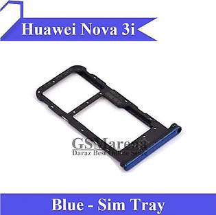 Huawei Nova 3i SIM Tray Sim Jacket Sim Slot Sim Door For Nova 3i - Blue