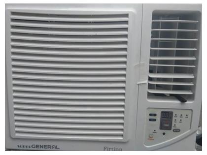 General 0.75 Ton New Window Air Conditioner with Remote Control - White