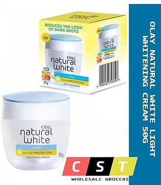 Natural White Light Whitening Cream 50-g Light with UV Protection