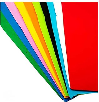 10pcs different colour A4 size Fomic Sheet for Art Work (Size 8X12In)