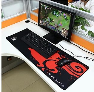 Extended Large Dragon Mantis Gaming and Office Keyboard Mouse Pad, Size 900mm x…