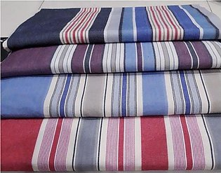 Cotton Double Bed Sheet With 2 Pillows