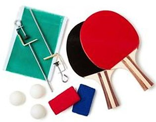 Table Tennis Racket With 3 Balls Stands And Net Butterfly Fitness Exercise