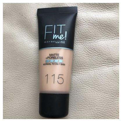 Maybelline Fit Me Matte & Poreless Foundation - 115 Porcelain 30ml