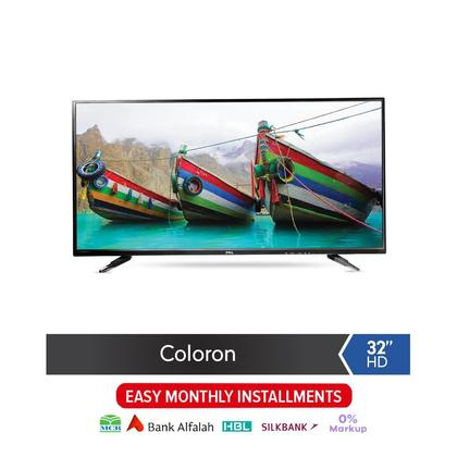"PEL Coloron 32"" HD LED TV - Black"