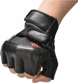 Weightlifting Exercise Fitness Gloves Gym Gloves Training Gloves with Wrist S...