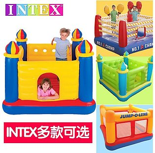 Intex Inflatable JumpOLene Ball Pit Outdoor Castle Bouncer