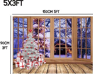 5x3ft/8x6ft Christmas Studio Photography Background Photo Picture Child Backdrop