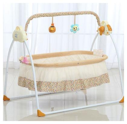 Portable Baby Swing 0 to 2 Year Newborn Baby Folding Bed Bassinet Convertible Baby Crib Cot