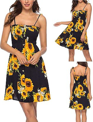 Popular new products in 2019 Fashion Women Summer Casual dresses