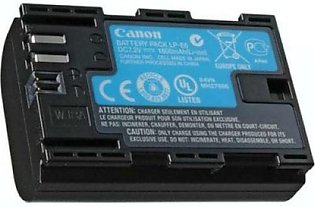 LP-E6 Battery for Canon EOS 5D 5Ds 7D 6D Mark II III 60D 70D 60Da (7.2V)