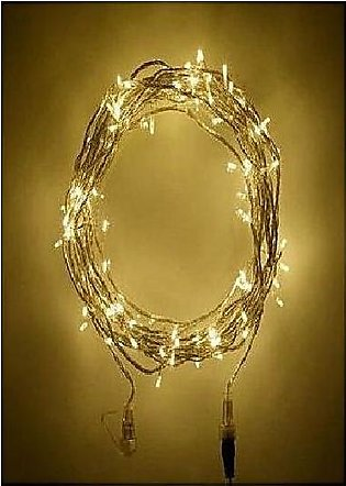 Fairy LED Light String - 30 Feet - Golden