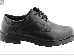 Black school shoes for boys