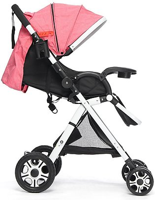 【New Arrival】Baby Pushchair Stroller Foldable Buggy Lightweight Adjustable Jogg…