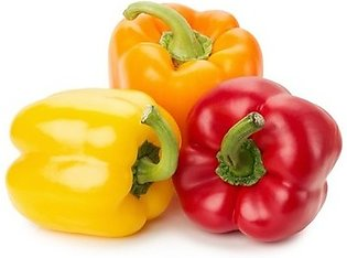 F1 Hybrid Capsicum  Bell Pepper Seeds- 3 Packs- Yellow, Orange and Red- 30 Seed…