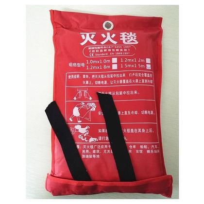 1m Sealed Fire Blanket Kitchen Safety Fighting Fire Extinguishers Tent