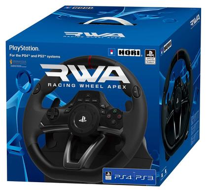 Sony PlayStation 4 RWA Racing Wheel Apexe controller for PS4 and PS3 Officially Licensed