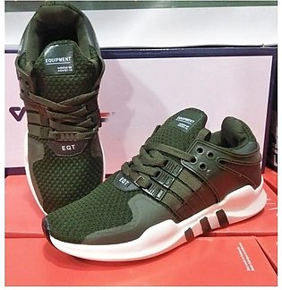 Green Sports  Running Shoes For Men